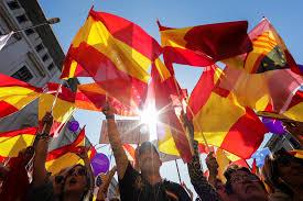 Barcelona Spain Flag Feeling The Pain In Spain