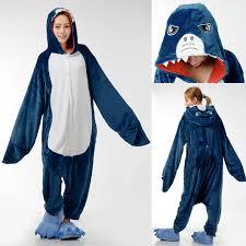 Shark Halloween Costume Women Aliexpress Buy Shark Anime Animal Onesie Adults Women