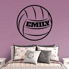 volleyball personalized name wall decal shop fathead for wall volleyball personalized name fathead wall decal