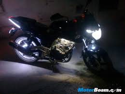 led strip lights for motorcycles bajaj pulsar with led lightning