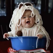 diy infant halloween costume halloween costume of the day spaghetti and meatballs parenting