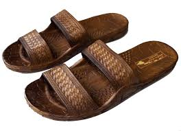 hawaii brown and black jesus sandals for kids boys and girls