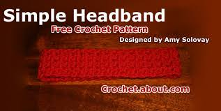 crochet hair bands crochet hair accessories free patterns