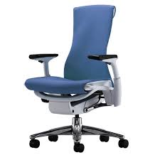 Blue Computer Chair Adjustable Office Chair Furniture Elegant Furniture Design