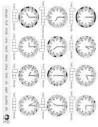time worksheet french french class pinterest worksheets