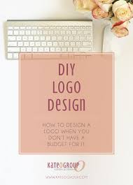 diy logo design small business advice kateogroup