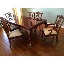 stanley 60th anniv mahogany chippendale dining chairish