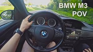 Bmw M3 E92 Specs - e92 bmw m3 manual launches acceleration and exhaust pov drive