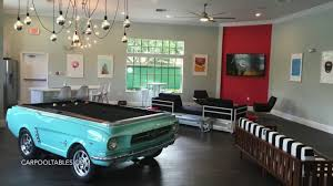 Mustang Pool Table Mustang Car Pool Table Build At Boardwalk Apartments In Tampa