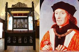 richard iii successor king henry vii u0027s 20m tudor bed found dumped