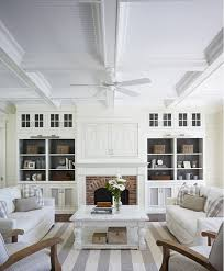 white living room traditional interior design