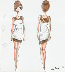 cute dresses longer dresses by eliza ananian illustration cute