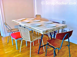 Floor Dining Table D I Y Pallet Dining Table A 10 Step Tutorial