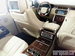 land rover series 3 interior 2013 range rover european car magazine