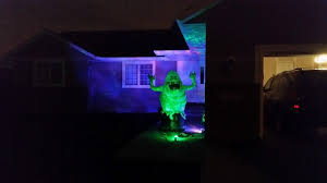 halloween light display projector lighting new 2015 gemmy lightshow projection ghost witch spider