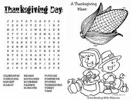 printable thanksgiving word search happy thanksgiving