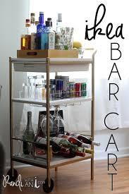 Ikea Cart by Ikea Bar Cart Hack Randi With An I