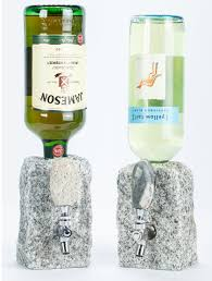 stone drink dispenser on stylish home decoration idea p67 with