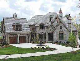 Stone House Plans Plan W17528lv Stone And Brick French Country E Architectural Design