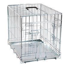rete metallica per gabbie gabbia per cani in metallo karlie flamingo petingros