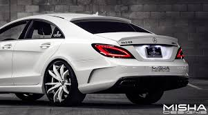 mercedes cls63 amg price mercedes cls 63 amg kit misha designs custom couture 7