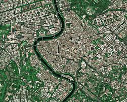 Vatican City Map Aerial Views Of Rome Google Search Aerial River Views