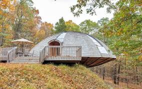 Geodesic Dome Home Floor Plans by For Under 1m You Can Buy A Dome Home In New Paltz That Rotates