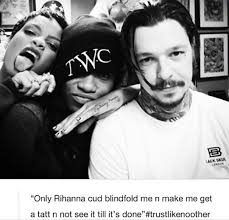 rihanna tattoo pictures to pin on pinterest tattooskid