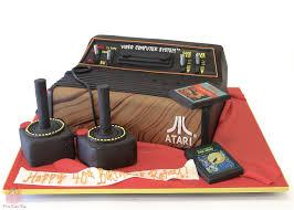 atari 2600 game console birthday cake birthday cakes