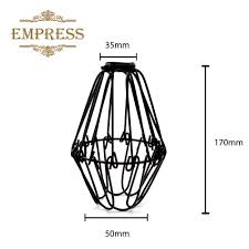 birdcage lights wire lamp cage retro lampshade vintage