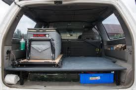 diy offroad camper diy false floor drawers alternative for your 4wd intents offroad