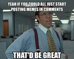 Meme Comments - posting memes in comments meme for facebook comments