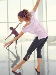 Ballet Inspired Workout Clothes Lace Up Crisscross Leggings Popsugar Fitness