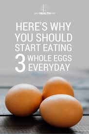 eat more eggs how 3 per day can impact your body