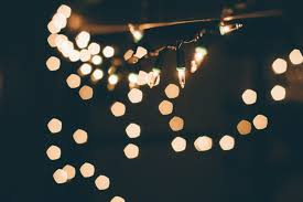 and white christmas lights christmas lights in bokeh photo by rabe markrabephotography