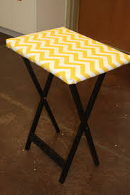 How To Make End Tables by Best 25 Tv Trays Ideas On Pinterest Tv Tray Makeover Painted