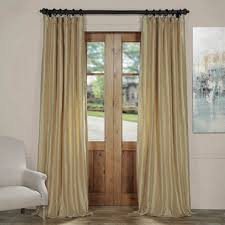 Dupioni Silk Drapes Discount Solid Faux Silk Curtains