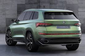 cars jeep 2016 czech this out six seat skoda vision s concept unveiled by car