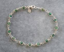 silver bracelet wire images Wire wrapped gemstone swarovski crystal and pearl bracelet page three jpg