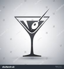 martini glass vector vector martini glass icon stock vector 226503025 shutterstock
