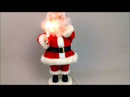 Mrs Claus Animated Christmas Decorations by Holiday Creations Santas Pride Santa Claus Animated Figure Youtube