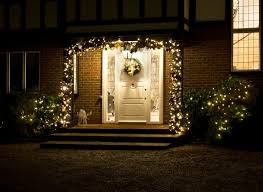 outdoor lighted garland lights 17 amazing outdoor