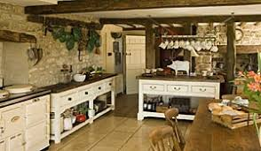 old farmhouse kitchen cabinets love the rustic feel of this kitchen with the exposed stone walls
