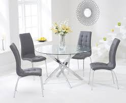 Glass Dining Sets 4 Chairs Exceptional Glass Table With 4 Chairs Dining Tables