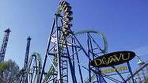 Sox Flags New England Six Flags Magic Mountain To Remove Deja Vu Coaster