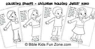 Childrens Bible Coloring Pages Coloring Pages Of Children Close Up Children Bible Stories Coloring Pages