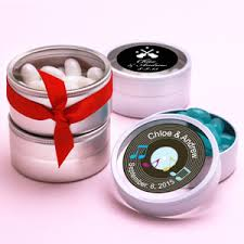 theme wedding favors personalized theme clear top tins musical theme wedding