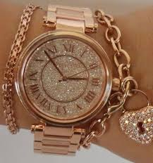bracelet watches ebay images Michael kors women 39 s skylar rose gold tone bracelet glitz 42mm jpg