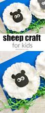 sheep craft for kids sheep crafts cupcake liners and youngest child