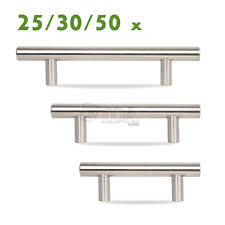 stainless steel cabinet pulls ebay